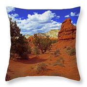Shakespeare Trail In Kodachrome Park Throw Pillow