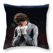 Shaktars Goalkeeper Throw Pillow