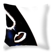 Shaman Tilt  Throw Pillow