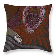 Shamsiel And The Little Father Throw Pillow