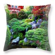 Shangri-la In San Francisco Throw Pillow