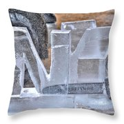 Shaping Up Ny Throw Pillow