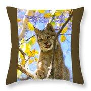 Share Your Habitat Throw Pillow