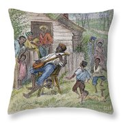 Sharecroppers, 1876 Throw Pillow