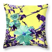 Sharon's Cousin  Throw Pillow by Pamela Patch