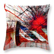 Shaves And Graves  Throw Pillow