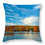 Shawnee State Park Throw Pillow
