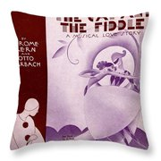 She Didn't Say Yes Throw Pillow