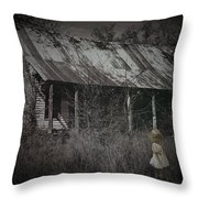 She Doesn't Play Here Anymore Throw Pillow