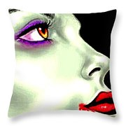 She Gave Her Lover The Gift Of Eternal Life 2 Throw Pillow