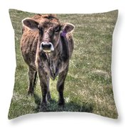 She Is A Spokesperson For Her Tribe Throw Pillow