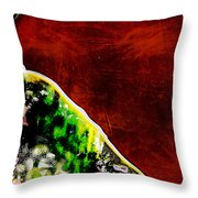 She Walked Toward The Sunset Throw Pillow