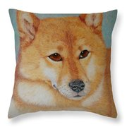 Sheba Inu  Throw Pillow