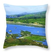 Sheeps Head, Co Cork, Ireland Headland Throw Pillow
