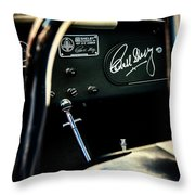 Shelby Cockpit Throw Pillow