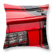 Shelby Gt500 Convertible Throw Pillow
