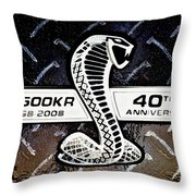 Shelby Logo Throw Pillow