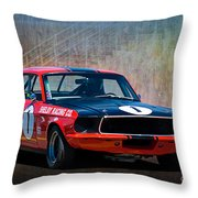 Shelby Racing Co Mustang Throw Pillow