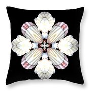 Shell Art 2 Throw Pillow