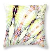 Shell Art 3 Throw Pillow