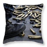 Shell Casings From A .50 Caliber Throw Pillow