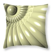 Shell Of Repetition Throw Pillow