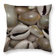 Shell Sigay 1 Throw Pillow