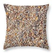 Shells Shells Shells Throw Pillow