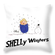 Shelly Winters Throw Pillow