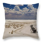 Shelters From The Afternoon Sun Throw Pillow