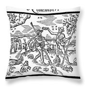 Shepherd, 1597 Throw Pillow