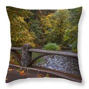 Sheppards Glen Colors Throw Pillow