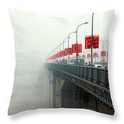 Shibanpo Bridge Throw Pillow