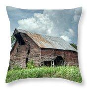 Shingle Barn 1 Throw Pillow