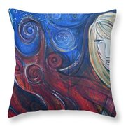 Shiva Rea's Sacred Fire Throw Pillow