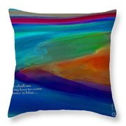 Shoal Haiku Throw Pillow