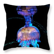 Shock Brothers Throw Pillow