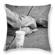Shoeless Throw Pillow