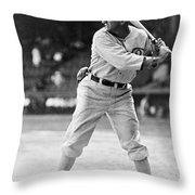 Shoeless Joe Jackson  (1889-1991) Throw Pillow