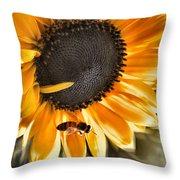 Shoo Bee Throw Pillow