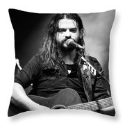 Shooter Jennings - Country Mark Throw Pillow