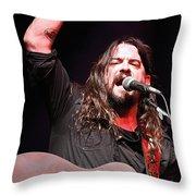Shooter Jennings - Takin' It Back Throw Pillow