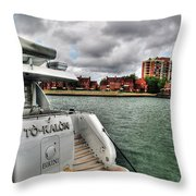 Shore This Is The Life Throw Pillow