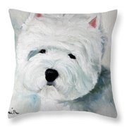 Show Dog  Throw Pillow