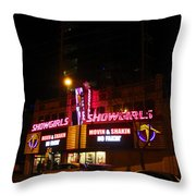 Showgirls Moving And Shaking Throw Pillow