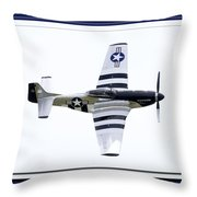 Showing Off Throw Pillow by Greg Fortier