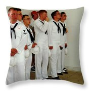 Showing Respect Throw Pillow