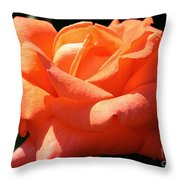 Shreveport Rose Throw Pillow