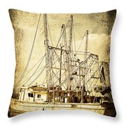 Shrimper Throw Pillow