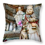 Shrine Throw Pillow
